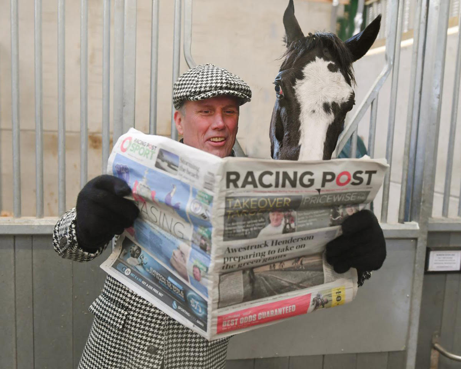 Bez and Mystic Moonshadow catch up the latest racing news in The Racing Post